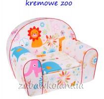fotelik-kremowezoo