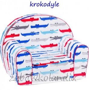 fotelik-krokodyle