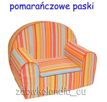 fotelik-pomaranczowepaski